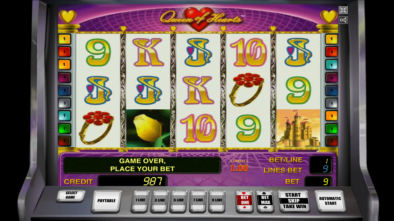 Play more hearts slot machine online free