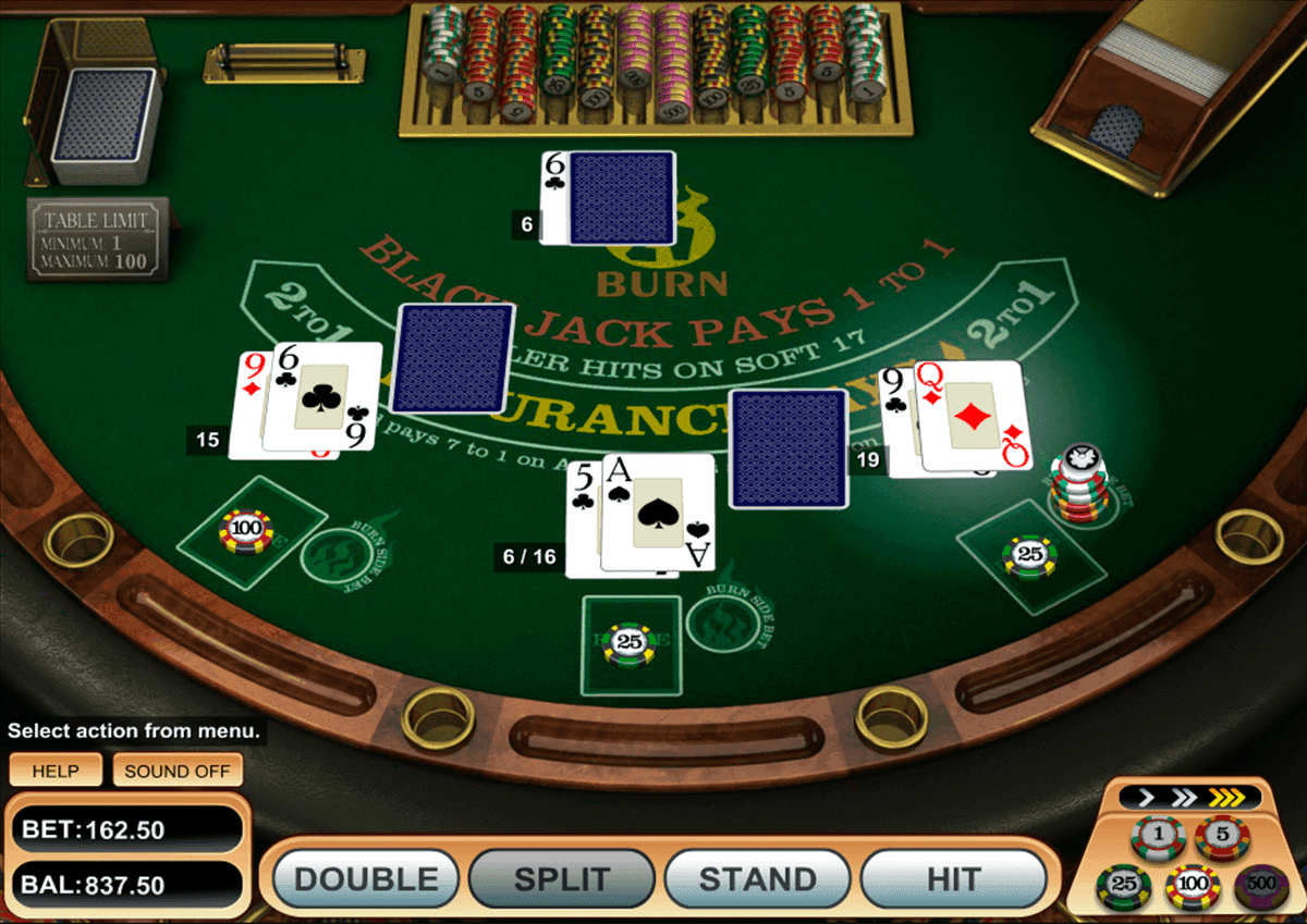 21 Burn Blackjack