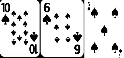 يد غير فائزة في حالة وجود بلاك جاك مع لاعب آخر أو الموزع