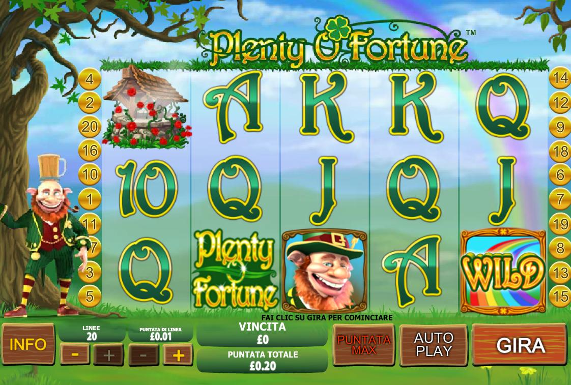 Plenty O'Fortune