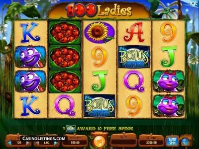 arabian slotsx.com 100 ladies online slot game