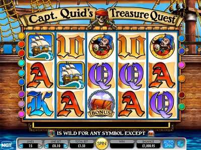 /arabian slotsx.com captain quids treasure quest online slot game