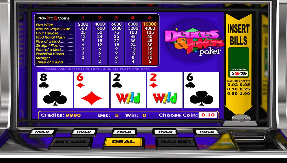 Deuces & Jokers Poker