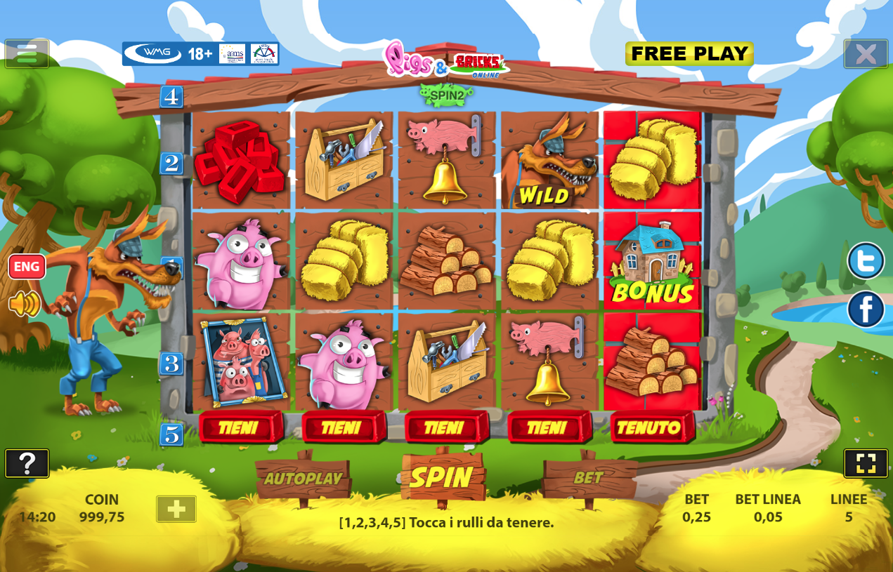 Pigs & Bricks